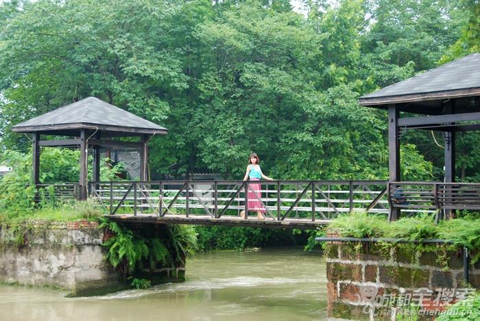 8公里到达西江月农业生态观光园.