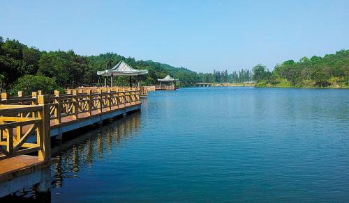 广东新会玉湖风景区